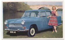 Austin A 55 Farina Mk 2 original Factory issued postcard Publication Number 1840