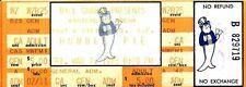 Original HUMBLE PIE  Unused Concert Ticket Winterland SF 1975 Marriott Frampton