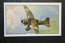 Westland Lysander  RAF Army Cooperation Aircraft  Vintage Card ## VGC