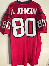 aa1168c8a Reebok Authentic NFL Jersey Houston Texans Andre Johnson Red Alternate sz 54