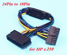 ATX PSU 24Pin to Motherboard 18Pin Power Supply Cable 30cm 18AWG for HP z210