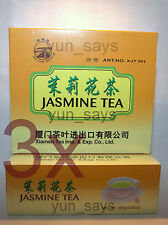 3 X Sea Dyke - Jasmine Tea 100 Teabags  ** 3 Packages/300bags For £15.00p **