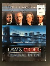 Law  Order: Criminal Intent - The First Year (DVD, 2003, 6-Disc Set)