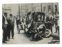 AAA 100 Years of Service Automobile Crash (Unposted) Vintage Postcard