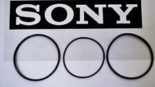 SONY CDP-CX300 CDP-CX355 300 CD Changer 3 Belt Set CD Carousel Loading & Door