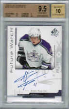 06/07 SP AUTHENTIC ANZE KOPITAR 184 FUTURE WATCH RC 999 BGS 9.5 GEM MINT 10 AUTO
