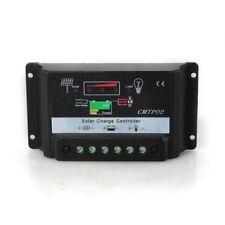 Controlador Regulador de Carga para Bateria Panel Solar 10A 12V/24V T5