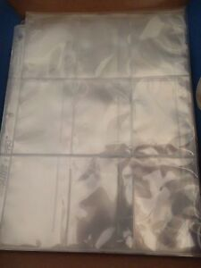 28 Ultra Pro Silver 9-Pocket Binder Pages - Sports Cards or Magic Cards