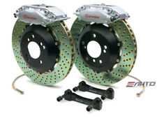 BREMBO Rear GT Brake C Caliper Silver 328x28 Drill disc Benz SL500 SL550 R230