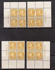 Canada #168 VF/NH Plate #2 Well Centered Match Set
