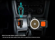 2019 New Usb Car Charger Bluetooth Mp3 Fm Transmitter Cigarette Lighter Splitter
