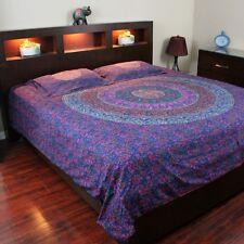 Reversible Duvet Cover Cotton Handmade Mandala Block Print Twin