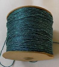 BEADETTE VINTAGE CRAFT SPOOL YARN TURQUOISE COLOR (G89)
