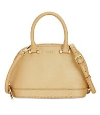 Dkny Round Satchel (Cream Gold, Small)