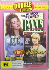 Double Feature: The almost perfect Bank Robbery & Wildflower dvd