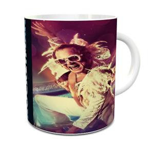 rocketman mug taron egerton rocketman ceramic mug elton john rocketman mug