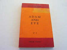 ADAM AND EVE  1961  MARCUS VAN HELLER  RARE!  AMAZING VINTAGE SEX ED  VERY GOOD-