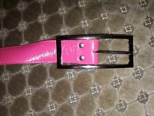 Belt for woman pink plastic retro style, new, free ship worldwide