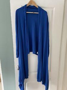 DKNY Blue Cardigan/shawl - Size M/L