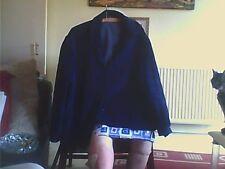 Women's Jacket Size 20 Blue Cotton