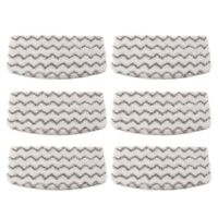 6 Pcs Dirt Grip Microfiber Pads Replacement for Shark Steam Mop S1000 J2Y1