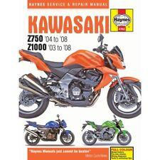 Haynes Manual Para 2006 KAWASAKI Z 750 S (ZR750K6F)