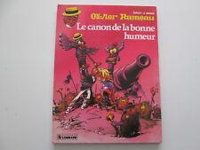 OLIVIER RAMEAU EO1983 LE CANON DE LA BONNE HUMEUR BE/TBE EDITION ORIGINALE