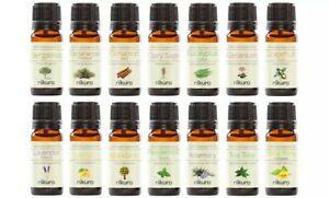 Nikura 10ml Essential Oils Pure Natural Aromatherapy Fragrance Lavender Tea Tree