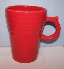 7b7ccac4400 NEW FIESTAWARE SCARLET RED LARGE LATTE / COFFEE MUG FIESTA