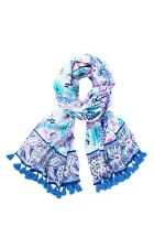 NWT Lilly Pulitzer NWT Resort Scarf Multi Quill Out Engineered Wrap