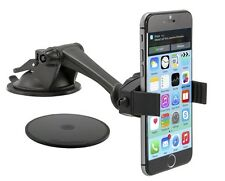 MG279: Arkon Mobile Grip 2 Windshield/Dash/Desk Mount for iPhone SE 6 6S 7 Plus