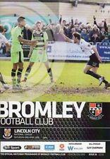 Lincoln City Football Non-League Fixture Programmes (2000s)