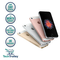 Apple iPhone SE 16GB 32GB 64GB & 128GB Unlocked All Colours 12 Month Warranty