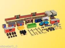 H0 Deko-Set Hinterhof, Modellwelten Bausatz 1:87, Kibri 38313