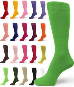Spotlight Hosiery Quality Solid Plain Mens Dress Socks(XL Option)- FREE SHIPPING