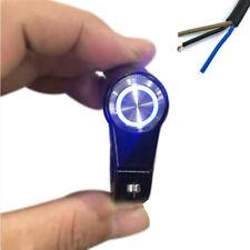 22mm Aluminium LED Motorrad Lenkertaster Schalter Tippschalter Funktionstaste