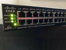 Cisco SG500-52P Gigabit PoE Managed Stackable Switch