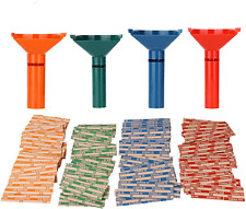 Coin Counters Amp Coin Sorters Tubes Bundle Of 4 Color Coded Coin Tubes And 100 As