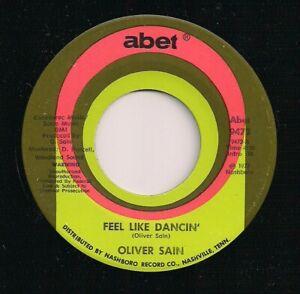 70's FUNK DISCO OLIVER SAIN - FEEL LIKE DANCIN' / B-OOGIE - ABET 9472 - US ABET