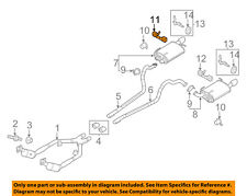 FORD OEM 11-14 Mustang 3.7L-V6-Exhaust Bracket-Front Right BR3Z5A246B