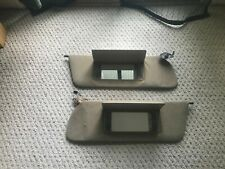 Jeep FSJ Grand Wagoneer Cherokee Sun Visor Pair Rare 1991 with Dimmable Lighting