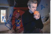 PETER CAPALDI HAND SIGNED DOCTOR WHO 6X4 PHOTO DR WHO.