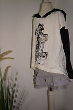 Monnalisa nylon amplio manga larga camisa opppey & Olivia ramo GR: 8 años 128 beig