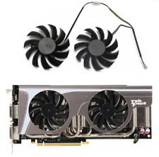 2psc 75MM PLD08010S12HH Cooler Fan For MSI GeForce GTX 580 570 560 560Ti 480 465