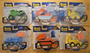 BOB THE BUILDER DIECAST MUCK DIZZY SCOOP Or TWO TONNE TOY VEHICLES BBC CBEEBIES