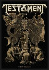 OFFICIAL LICENSED - TESTAMENT - DEMONARCHY SEW ON PATCH HEAVY METAL THRASH