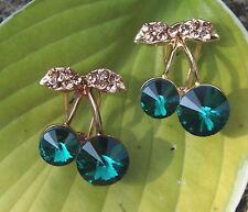 Alloy Green Costume Earrings