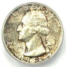 1932-S Washington Quarter 25C - ICG MS61 (BU UNC) - Rare Date - Certified Coin!