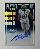 2016 Panini Contenders Playoff Ticket #128 A'Shawn Robinson Auto /199 - NM-MT
