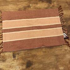 Newport-layton Home Fashions Bungalow Stripe Jester Red Boho Tassel 24x16
